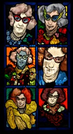 Patrick Reyntiens - The Triumph of Dame Edna 2